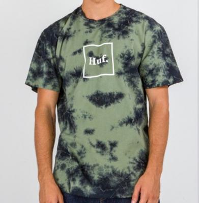 Koszulka HUF Domestic Logo CW Deep Olive