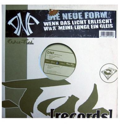 Vinyl DNF - Wenn Das Licht Erlischt