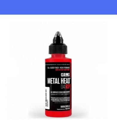 Marker GROG Metal Head 04 RSP Diving Blue 4mm