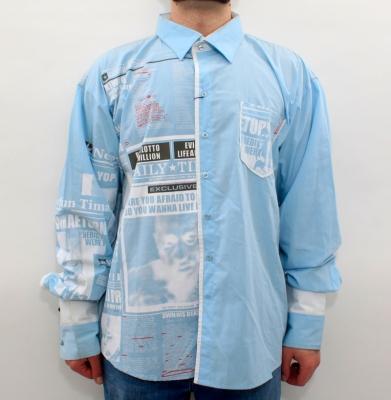 Koszula NYC Błękitna