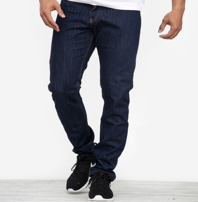Spodnie MORO Regular Leather Mini Slat Tag18 Ciemne Pranie