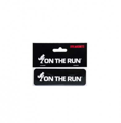 Magnez na lodówke ON THE RUN OTR LOGO Small