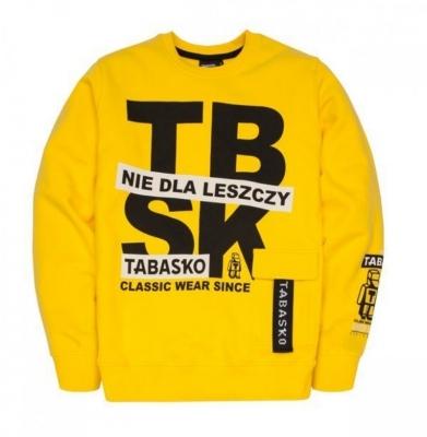 Bluza TABASKO Crewneck TBSK Yellow