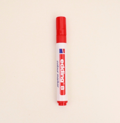 Marker EDDING 8 3mm Czerwony