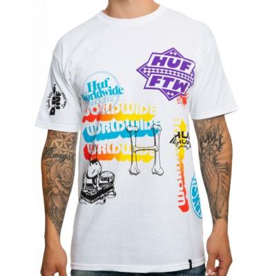 Koszulka HUF Test Print White