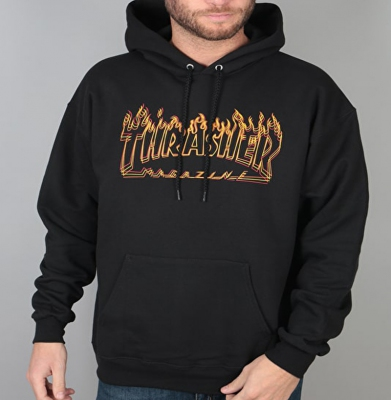 Bluza THRASHER Richter Black
