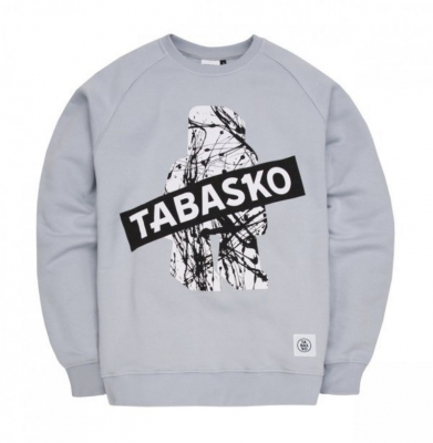 Bluza TABASKO Crewneck SPLASH Grey