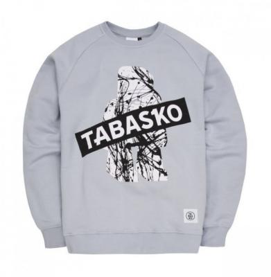 Bluza TABASKO Crewneck SPLASH Grey