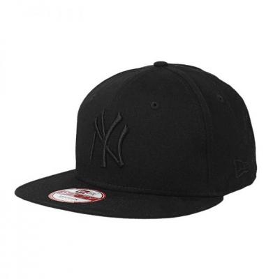 Czapka NEW ERA 9FIFTY NY MLB LEAGUE Snapback Black Logo