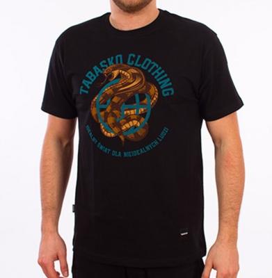 Koszulka TABASKO POISON Czarna
