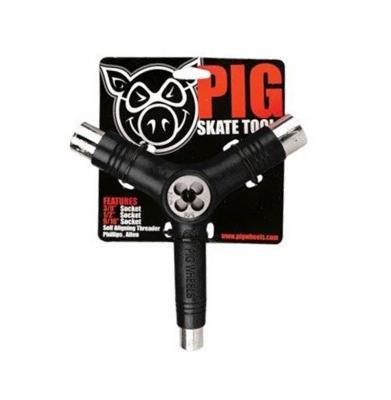 Klucz Wielofunkcyjny PIG Black