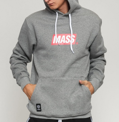 Bluza MASS DNM Big Box Medium Logo Lt.Heather Grey
