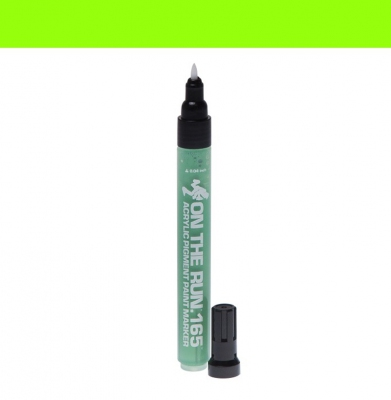 Marker ON THE RUN 165 Acrylic Light Green Fine 1mm