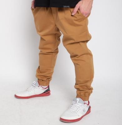 Spodnie DIAMANTE WEAR 'Jogger Classic' Miodowe