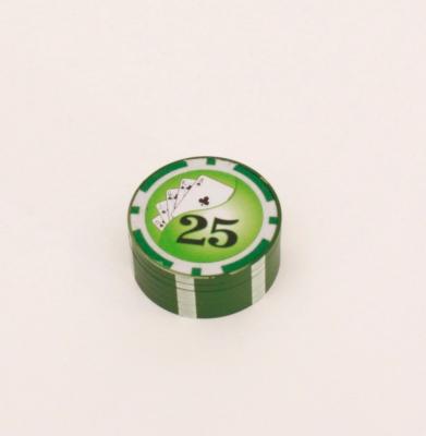 Młynek Metalowy POKER Zielony