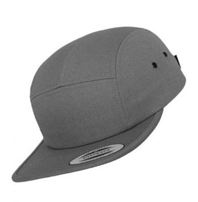 Czapka YUPOONG 5PANEL Dark Grey