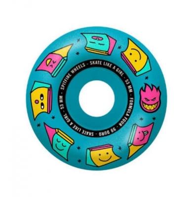 Koła SPITFIRE Skate Like a Girl F4 Radials (Blue) 99du 53mm