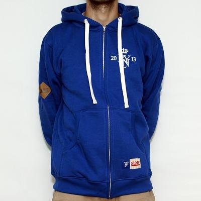 Bluza PLNY Navy Hoodie Zip