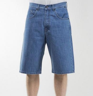 Szorty MASS DNM Slang Baggy Fit Light Blue