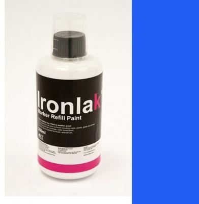 Tusz IRONLAK Marker Refill Paint Smurf 250ml