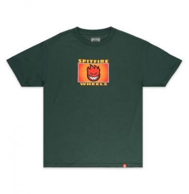 Koszulka SPITFIRE LABEL Forest Green