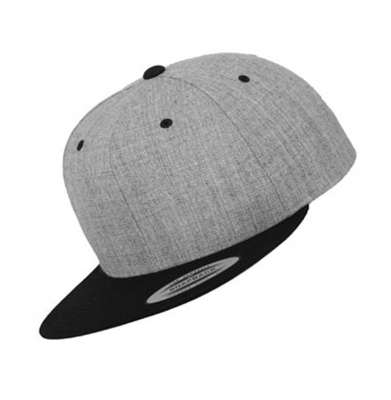 Snapback YUPOONG 2-TONE Grey Heather