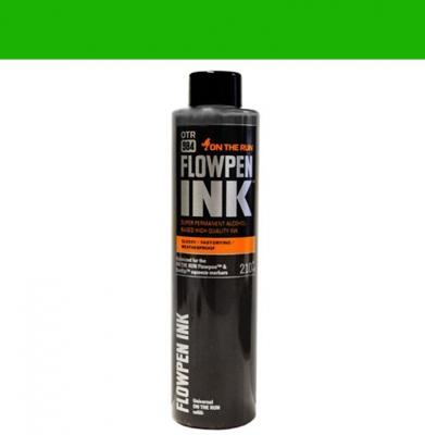 Tusz ON THE RUN Flowpen Ink Grass Green 210ml