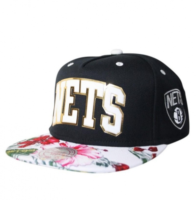 Czapka MITCHELL & NESS SNAPBACK NETS TROPICAL TEAM