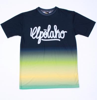Koszulka EL POLAKO Rainbow Czarna