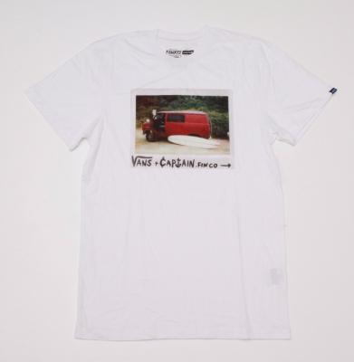 Koszulka VANS VANSURF WHITE