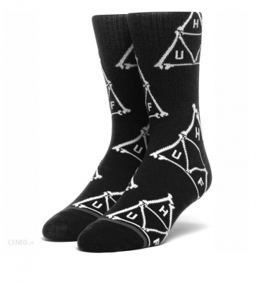 Skarpety HUF Boner Triangle Black