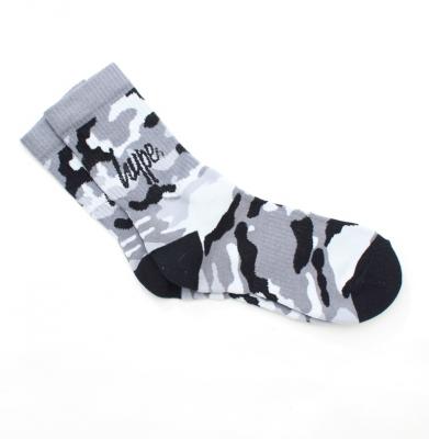 Skarpetki HYPE Camo Sock White