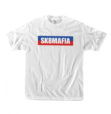 Koszulka SK8MAFIA Split Logo White