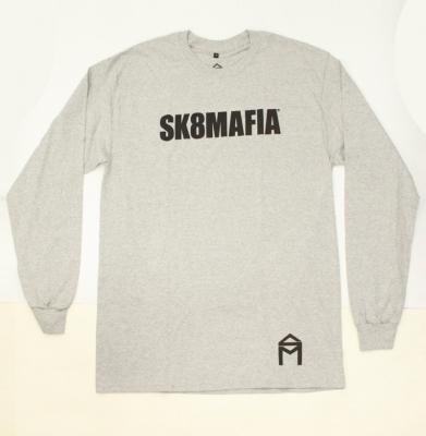 Longsleeve SK8MAFIA Og Logo Heather Grey