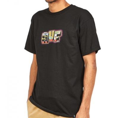 Koszulka HUF Huf Town Black