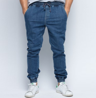 Spodnie DIAMANTE WEAR Jogger Jasny Jeans