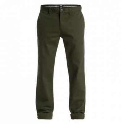 Spodnie DC Chinos Worker Straight Olive