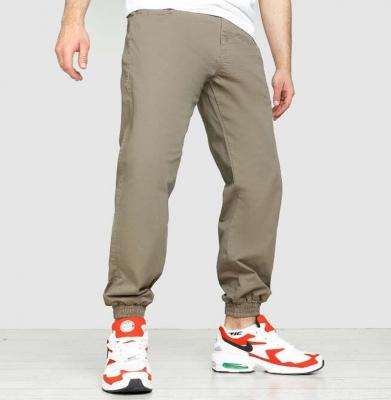 Spodnie MORO Joggery Medium Baseball Leather Beżowe