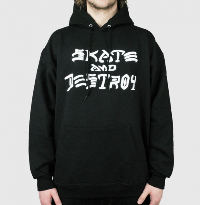 Bluza THRASHER Skate And Destroy Black