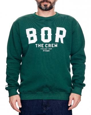 Bluza BOR BORCREW Zielona