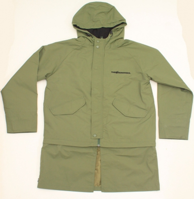 Kurtka THE HUNDREDS SWIM PARKA FOREST